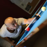 Joueur de billard - Crédits photo ©Yannick Perrin